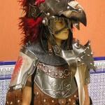 Escuadra especial de los Cides en el año de su Alferecia. Destaca el casco.