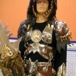 Escuadra especial de los Asturianos. Combinación de metal con el casco con cabeza de oso.