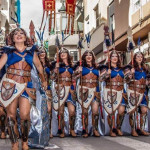 Escuadra femenina muy guerrera